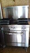 Commercial Kitchen Equipment Stove Drink Mixer Cabinet And Table Warmers Misc