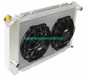 Aluminum Racing 3 Row Radiator+12 Fans Fits For 71-73 Ford Mustang V8 Mt Only