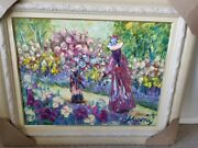 Psychic Painting Spiritually Signed By Monet