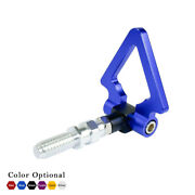 Blue Racing Triangle Screw On Front Rear Bumper Tow Hook For Bmw European Car