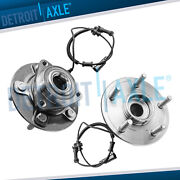 2 Front Wheel Bearing And Hub Assembly For 2012 -2015 2016 2017 2018 Ram 1500