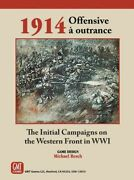 Gmt Games - Board Wargame - Offensive A Outrance Ww1 Western Front Campaigns