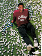 Tiger Woods Signed Autographed 1995 Stanford Golf Si Photo Jsa College Signature