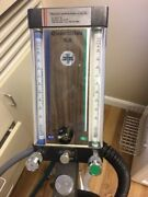 Complete Nitrous Dental Delivery System With 2 Flow Meters Regulators Etc