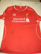 Liverpool-kenny Dalglish Hand Signed Home Liverpool Jersey + Photo Proof + C.o.a