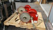 Thern M492 10000lb Spur Gear Hand Marine Winches 2 Ea