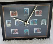 Rare Authentic Usps African-american Womenand039s Heritage Black Americana Clock