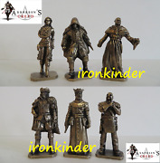 Assassinand039s Creed Bronze Metall Collectible Miniature Figure 40mm Extra Rare Set