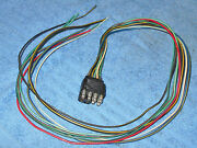 1965 Mustang Fastback Coupe Convertible Gt Shelby Under Hood To Dash Wiring Plug