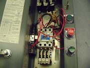 Cutler Hammer An16dno Size 1 Combination Starter W/ Phase Monitor Relay C323pn12