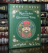 Nutcracker And Christmas Tales New Sealed Leather Bound Illustrated Hardcover