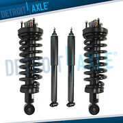 4pc Front Struts + Rear Shocks For Ford Crown Victoria Lincoln Town Car Mercury