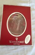 Waterford Crystal 4 Calling Birds Ornament And Charm 2010 12 Days Of Christmas