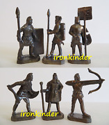 Persians Bronze Metal Toy Collection Soldier 40mm