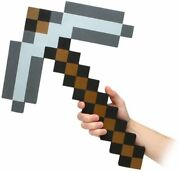 New Full Size 18 And039think Geekand039 And039minecraft Foam Iron Pickaxeand039 Pick Axe