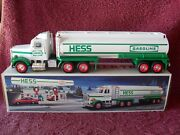 1990 Issue Hess White Toy Tanker Truck