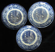 Liberty Blue Betsy Ross Berry Bowls 3