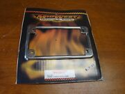 Midwest Motorcycle Supply 11-37 Chrome License Plate Frame Nos