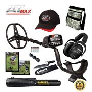 Garrett At Max Metal Detector + Ms-3 Headphones + Pro-pointer Ii Pouch And Digger