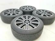 19 19 Inch Oem Factory Lincoln Continental Wheels Rims Tires Conti 2354519 Set4
