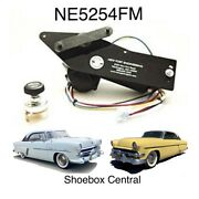 1952 1953 1954 Ford And Mercury 12v Electric Wiper Motor Kit