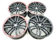 19 19 Inch Oem Replacement Volkswagon Vw Wheels Rims New Set Of 4 Gloss Black