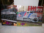 Mth Electric Trains Brand New Year 2018 Vol. 1 And 2 Catalogs Railking And Premier