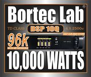 New Bortec Lab Dsp10q Td Network Power Amplifier For Line Array And Subwoofers