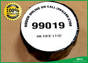 100 Rolls Dymo® 99019 1-part Ebay Paypal Postage Labels 400 450 Twin Turbo Duo