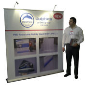 Premium 80 Retractable Banner Stands Roll Up Trade Show Display + Custom Print