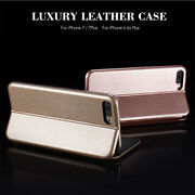 For Iphone 12 11pro Xs Max Xr 5 6 7 8 Shockproof Leather Flip Wallet Case Cover