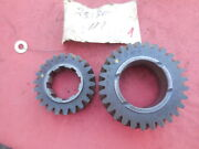 Porsche 911 Early 901 Transmission Gear Set 3rd And 4th Speed M 2530 1