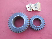 Porsche 911 Early 901 Transmission Gear Set 3rd And 4th Speed M 2530 3