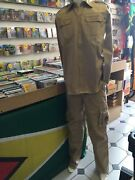 Army Style Sand Colour Jacket And Trouser Suit Reggae Rasta Roots Culture