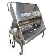 Extra Large 59 Propane/charcoal Stainless Spit Roaster Rotisserie Home Delivery