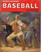 1952 Sports Review's Baseball Illustrated Magazine Poor