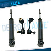 Nissan Murano Shock Absorbers + Sway Bar Links Kit Fits Rear Left And Right Sides