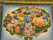 Disney Dlr - Gwp Disneyland Attractions 9 Mini Map Pin And Map Le Set Imc