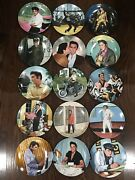 Delphi Elvis Presley Looking At A Legend 15 Plate Collection Mint Condition
