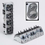 Brodix 1021000 Ik 200 Assembled Cylinder Head For Chevy 327/350/400 Small Block