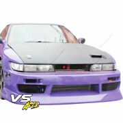 Frp Bspo Blister Wide Body Front Bumper 2/3dr Fits Nissan Silvia S13 89-94