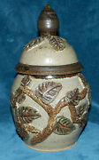GORGEOUS VINTAGE HAND CRAFTED POTTERY JAR WITH LID!!! SIGNED 1979
