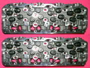 New 2 Chevy Gm Duramax 6.6 Lb7 Diesel Cylinder Heads Year 2001-2004.5 No Core