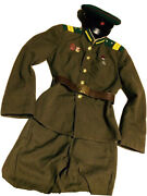 Ww -2 Soviet Russian Uniform Tunic Jacket+breeches+cap. Border Guard Kgb Nkvd