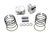 Forged .040 10.51 Compression Piston Kit Fits Harley-davidsonby Wiseco