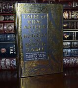 King Arthur And Knights Of Round Table By Thomas Malory Illustrated New Hardcover