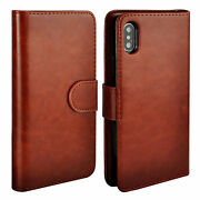 Detachable Magnetic Flip Card Wallet Case Cover For Iphone 11 12 Pro Samsung S20