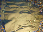 Korean War Womenand039s Wool Jacket Size 12 R With Embroidered Ribbons Sgt 1st Class