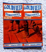 Vintage Pamphlet Goldfield Esmeralda County Nevada Ghost Town County 1950's