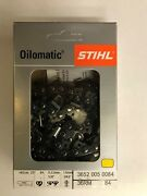 36rm 84 Stihl New Chainsaw Chain Saw. 3/8 063 84 25 Inch Blade Replaces 36rm3 84